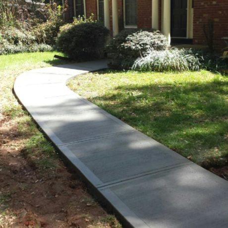 best concrete sidewalk contractors covington, la La ross and son concrete construction