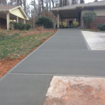driveway additon covington, la La ross and son concrete construction
