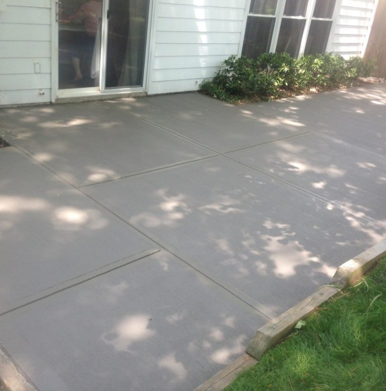 concrete patio repair covington, la La ross and son concrete construction